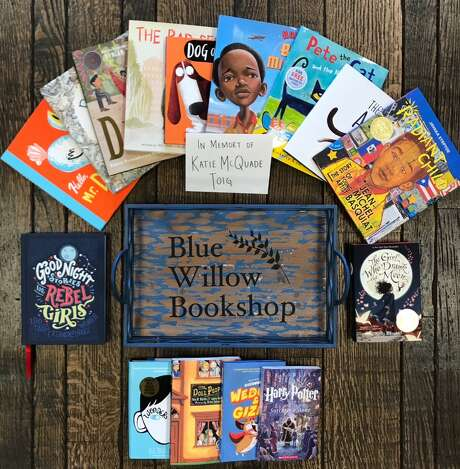 When customers donate a gift card, Blue Willow Bookshop selects children's books to give to shelters and schools that lost books.