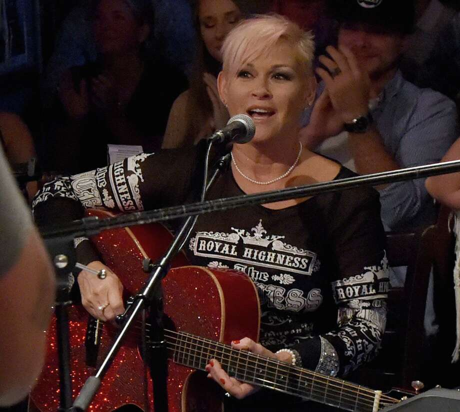 """NASHVILLE, TN - AUGUST 02:  Singer/Songwriter Lorrie Morgan performs during """"An Intimate Night With The Morgans"""" Lorrie Morgan, Marty Morgan And Guests at Bluebird Cafe on August 2, 2017 in Nashville, Tennessee.  (Photo by Rick Diamond/Getty Images) Photo: Rick Diamond, Staff / 2017 Getty Images"""