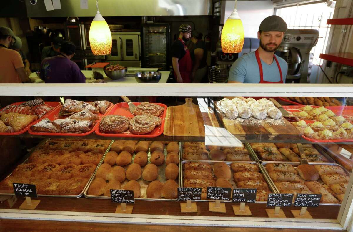 The Original Kolache Shoppe, 5404 Telephone Road, Houston  Start the day with meat, cheese, bread, and sugar.