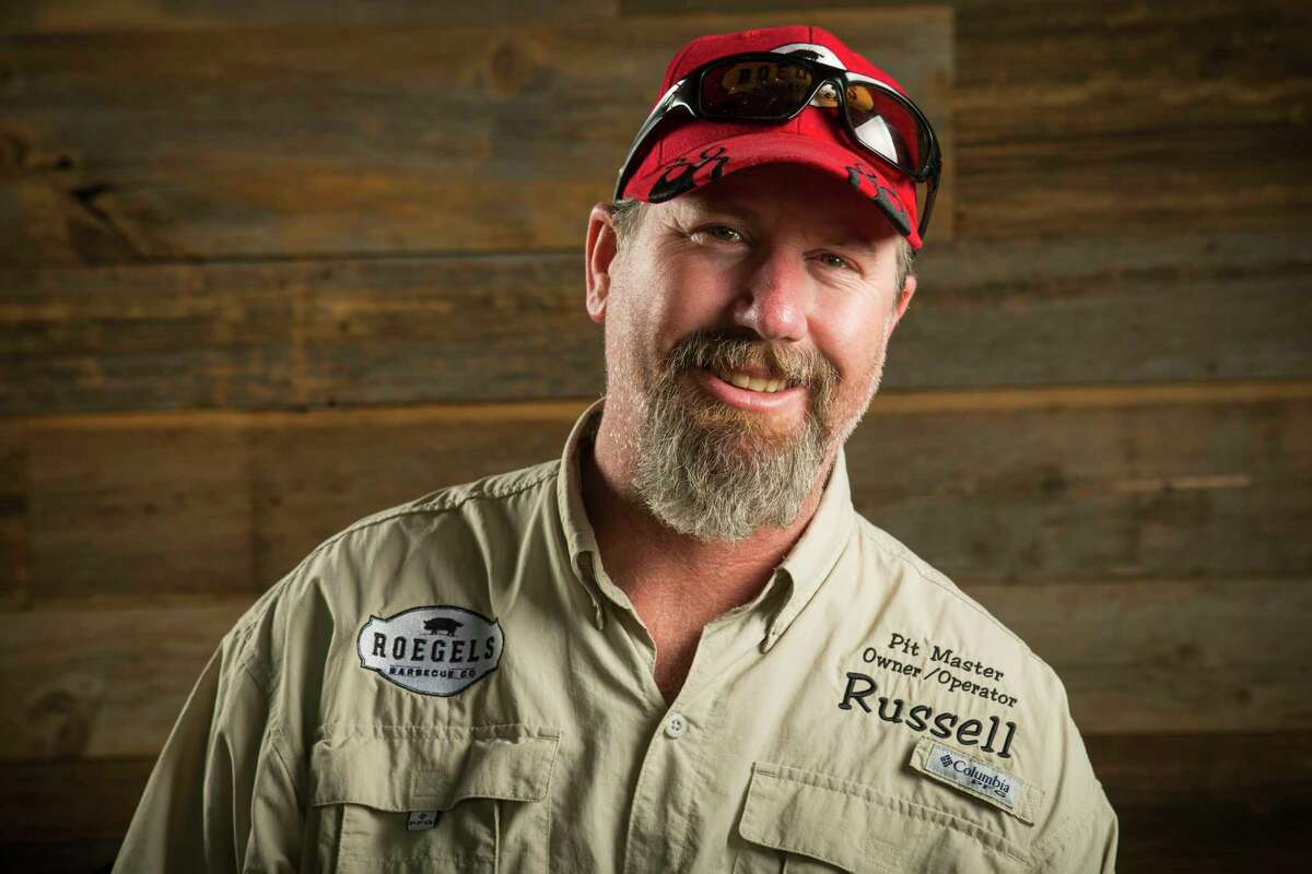 Russell Roegels owns Roegels Barbecue Co., with his wife Misty.