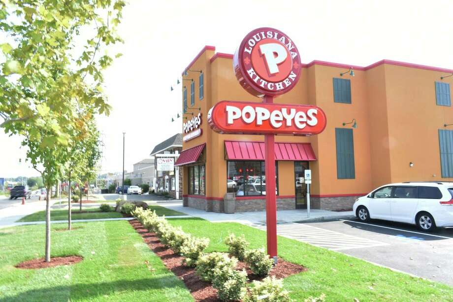 Popeyes Louisiana Kitchen opened September 1, 2017, at 497 Connecticut Ave. in Norwalk, Conn. Photo: Alexander Soule / Hearst Connecticut Media / Stamford Advocate