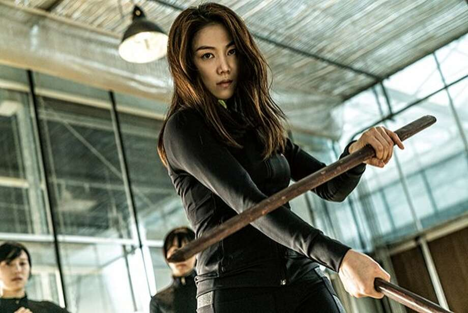 "Assassin Sook-hee (Ok-bin Kim) goes on a revenge tour in the South Korean action film ""The Villainess."" Photo: Next Entertainment World"