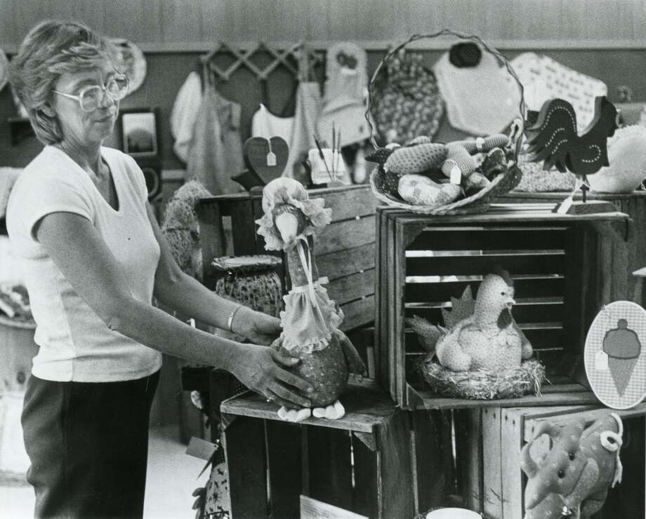 Something Special gift shop, 3312 Bay City Road, owned by Sue Dork. October 1984 Photo: Daily News File Photo