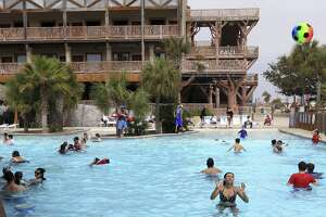 Among the businesses to file for bankruptcy last year in San Antonio was Upper Padre Partners, a company affiliated with Schlitterbahn officials that managed a 500-acre Padre Island development. Part of the development is the Schlitterbahn Riverpark & Resort (pictured).