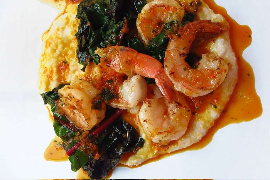 Shrimp & Funche Photo: Illyana Maisonet