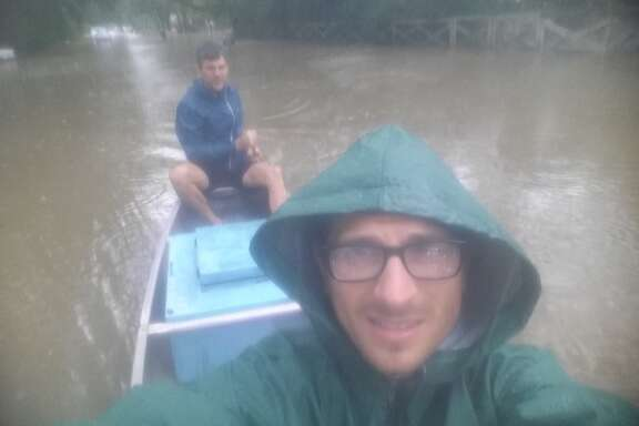 I paddled into Harvey in search of food for my family and a story for the newspaper. I wish I hadn't.