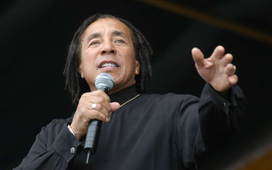 Smokey Robinson performs at The New Orleans Jazz & Heratige Festival in New Orleans, Sunday, May 2, 2004. (AP Photo/Burt Steel) Photo: BURT STEEL, AP