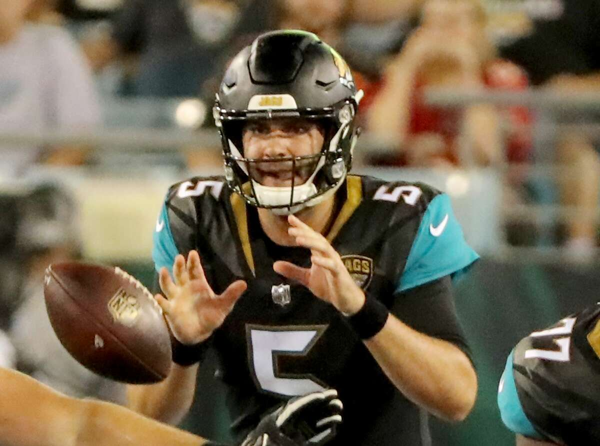 30. Jacksonville Jaguars Quarterback Blake Bortles will be on the shortest of leashes for the Jags, who aren't fooling anyone into thinking they're contenders this year.