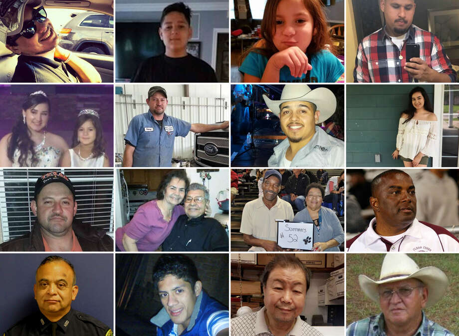 These are some of the people who perished during Hurricane Harvey and the flooding it unleashed.