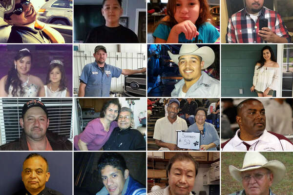 Just some of those who died in Hurricane Harvey.