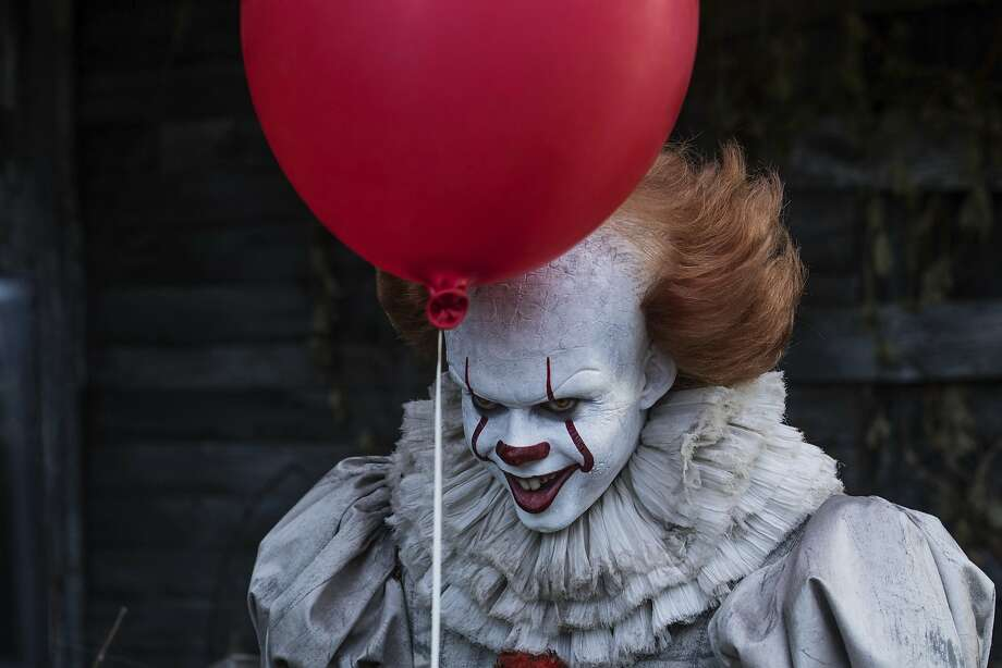 """LISTED: The best horror movie remakesThis image released by Warner Bros. Pictures shows Bill Skarsgard in a scene from """"It.""""See which horror movie remakes that Hollywood has aced in the past... Photo: Brooke Palmer, Associated Press"""