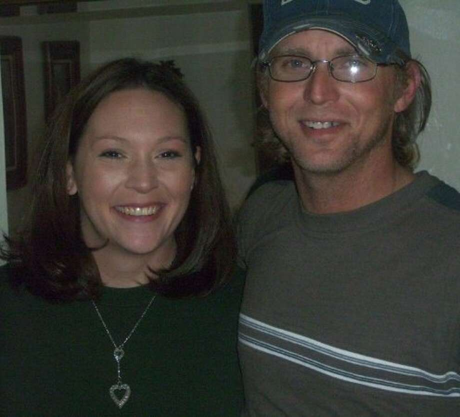 Casey Dailey, 38, died on Aug. 29 after she was unable to access  emergency care beyond her northeast Harris County home, which was surrounded by Harvey  floodwaters. The mother of two was recovering from surgery and fell ill.  She was rescued by the Cajun Navy, transferred to an airboat and then a  dump truck, but lost consciousness when the truck reached a road to load  her into an ambulance. She was pronounced dead at a Humble, Texas  hospital. She is shown here with husband, Wayne Dailey. Photo: Courtesy Of Darlene Zavertnik