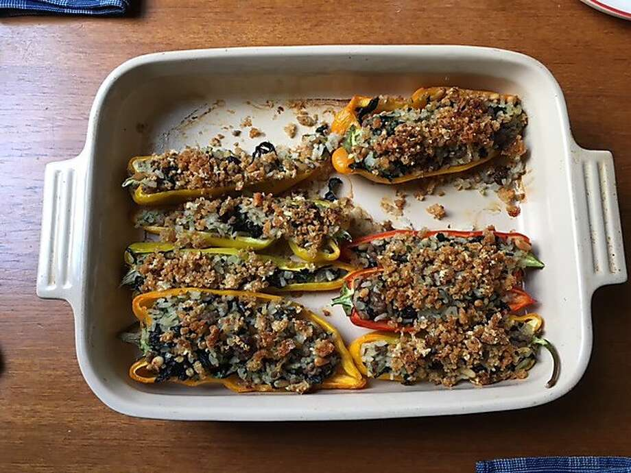 Italian Stuffed Peppers Photo: Jessica Battilana
