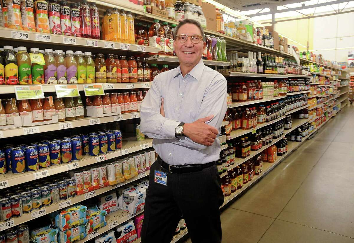 Scott McClelland, president of H-E-B Houston, at the company's store on W. Alabama in Houston. >>See the history of H-E-B.