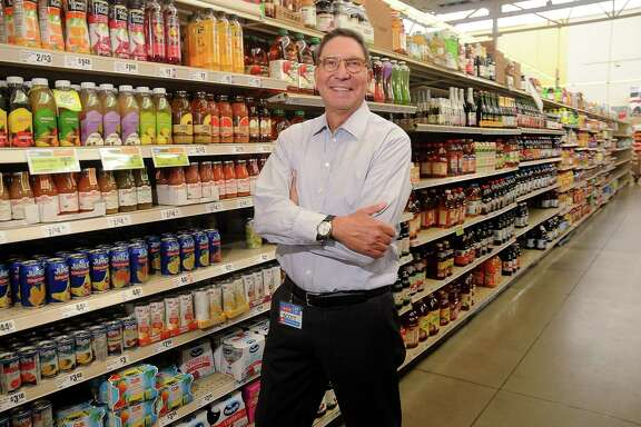 Scott McClelland, president of H-E-B Houston, at the company's store on W. Alabama in Houston. H-E-B worked quickly to  restock and reopen stores after Harvey made its way through Texas Gulf communities. Of the 31 stores in the Gulf region, al are open but three in Houston.