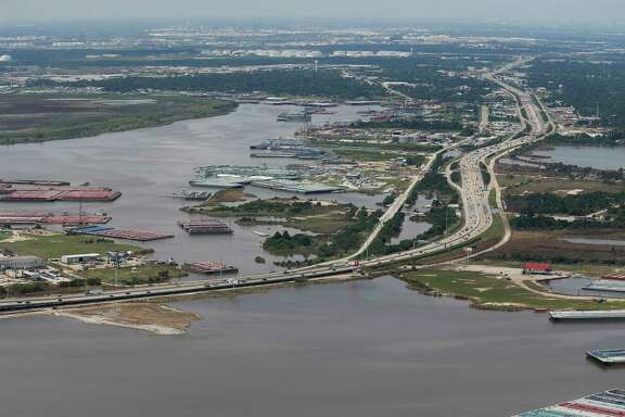 Contaminants from the flooded San Jacinto River Waste Pits Superfund Site site pose a potential health risk.