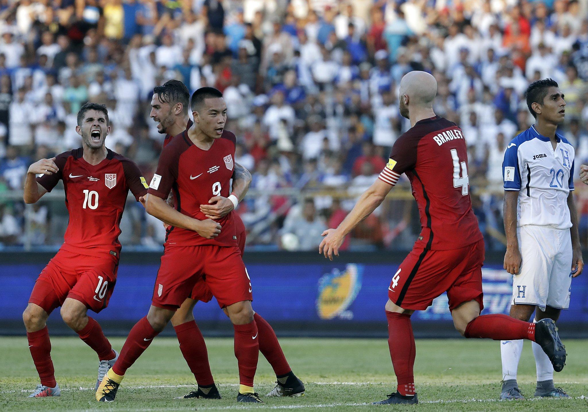 U.S. men's soccer team ties Honduras on Bobby Wood's late ...