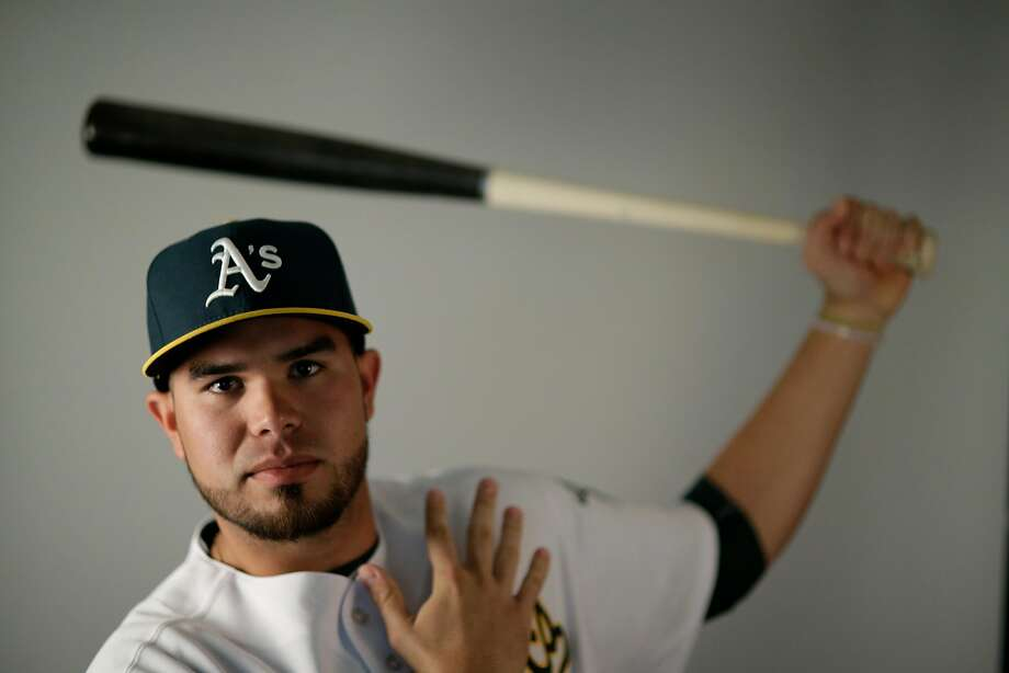 This is a 2016 photo of Renato Nunez of the Oakland Athletics baseball team. This image reflects the Oakland Athletics active roster as of Monday, Feb. 29, 2016, when this image was taken. (AP Photo/Chris Carlson) Photo: Chris Carlson, AP