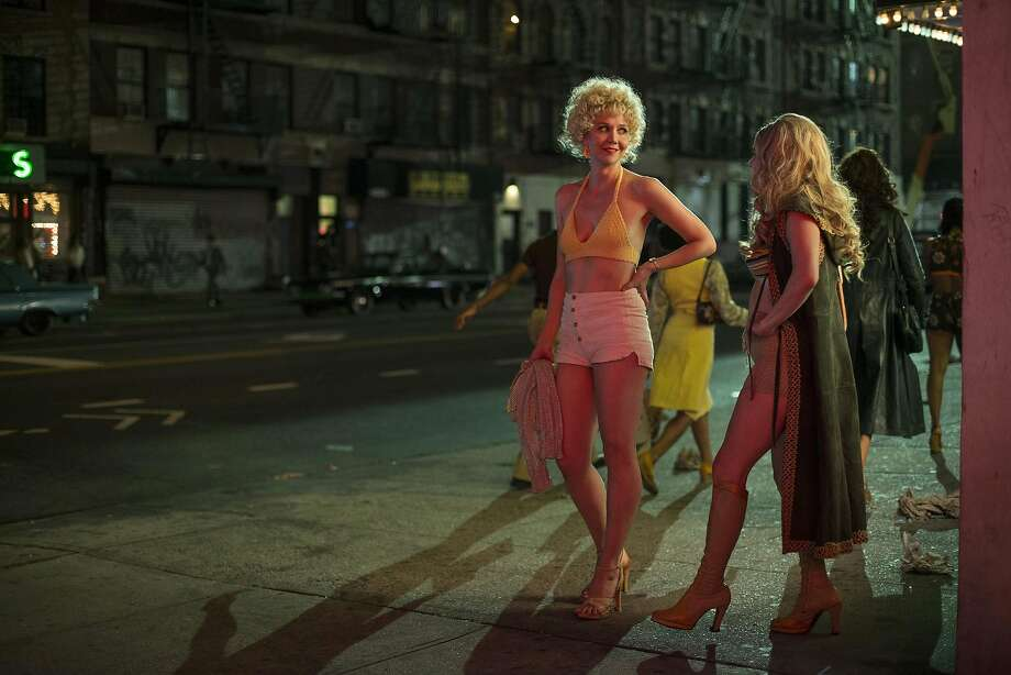 "Maggie Gyllenhaal on ""The Deuce.""  Photo: HBO, TNS"