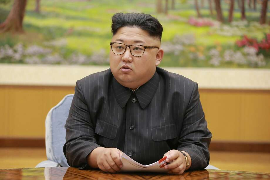 North Korean leader Kim Jong Un. Photo: STR/AFP/Getty Images