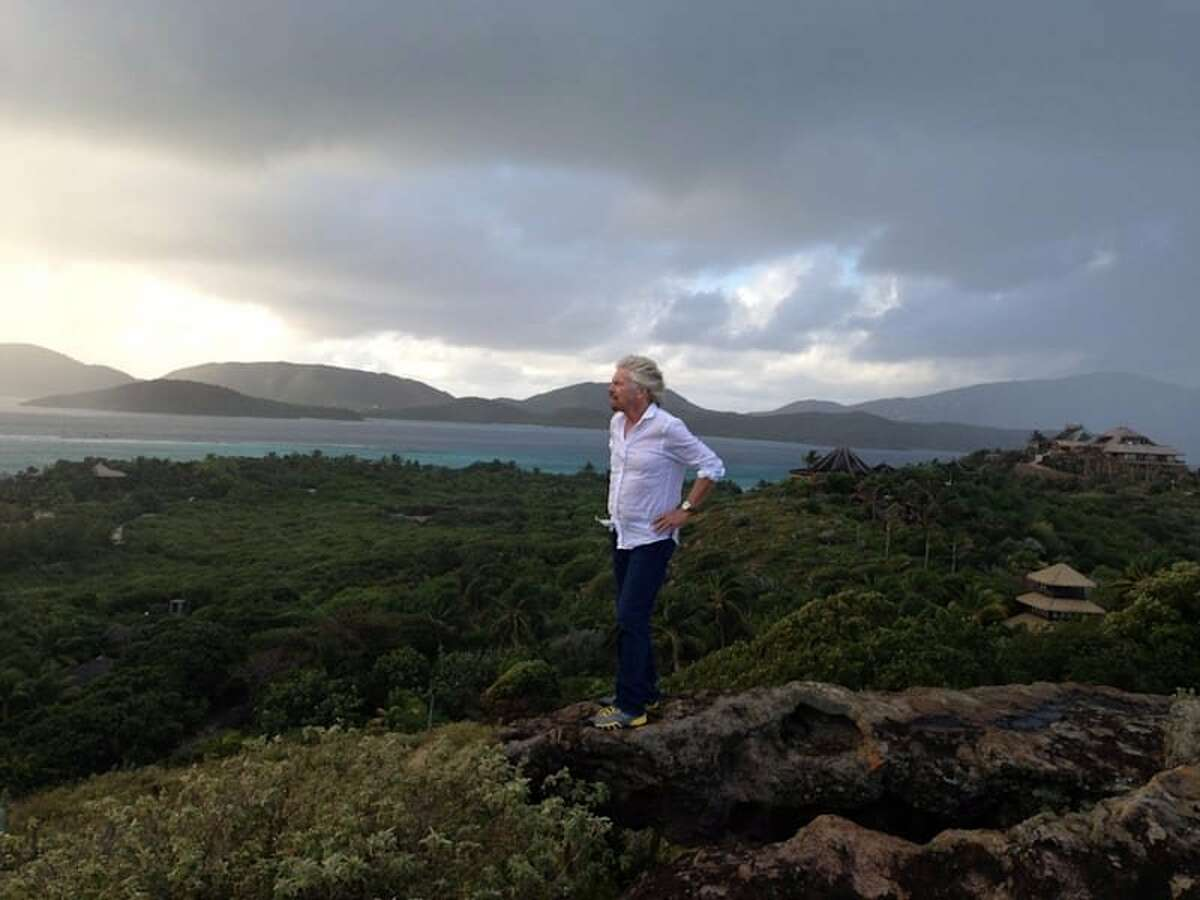 Billionaire entrepreneur Richard Branson is seeking a personal assistant, whose tasks will include living on Branson's private island located in the Caribbean, seen above.