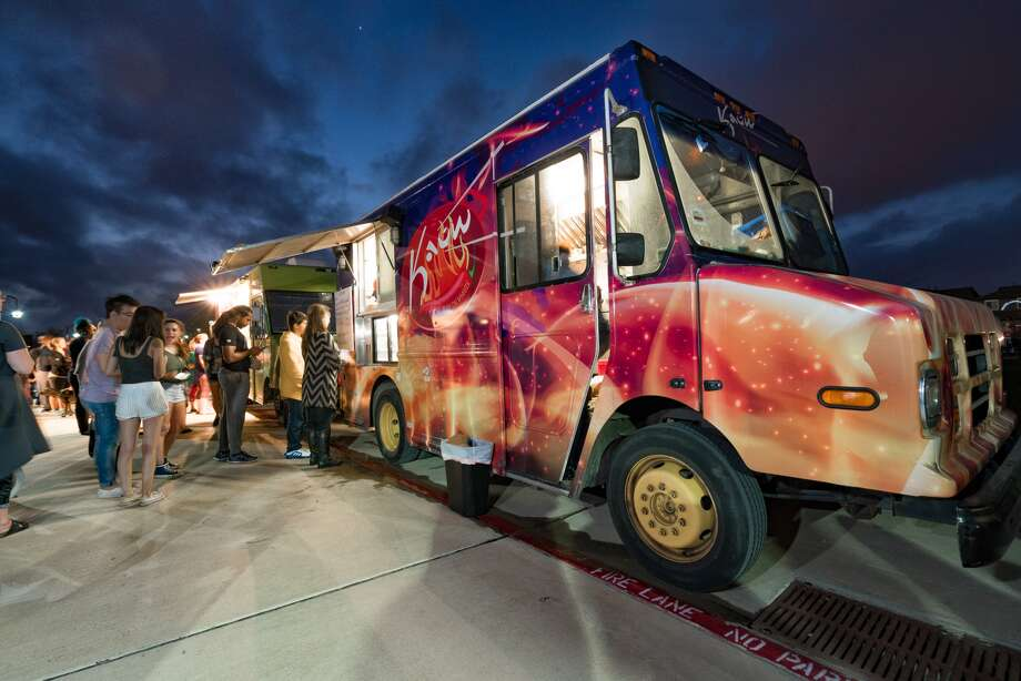 A portion of the proceeds from food trucks at Friday Night Bites in Bridgeland will benefit victims of Hurricane Harvey.