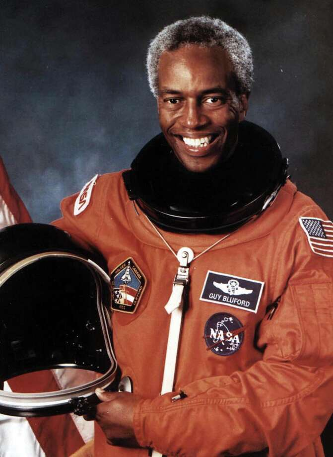 Former astronaut Dr. Guion Bluford Jr. will speak Feb. 19 as part of this year's Arts & Issues series. Photo: For The Intelligencer