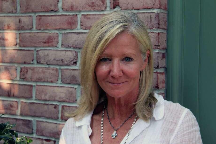 Holly Hurd, creator of Venture Mom, in Darien, Conn., on Sept. 5, 2017. Photo: Justin Papp / Hearst Connecticut Media / Darien News