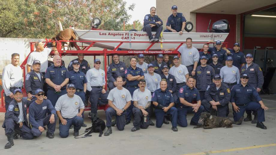 PHOTOS: Los Angeles Swiftwater Rescue Team makes stopover in Midland