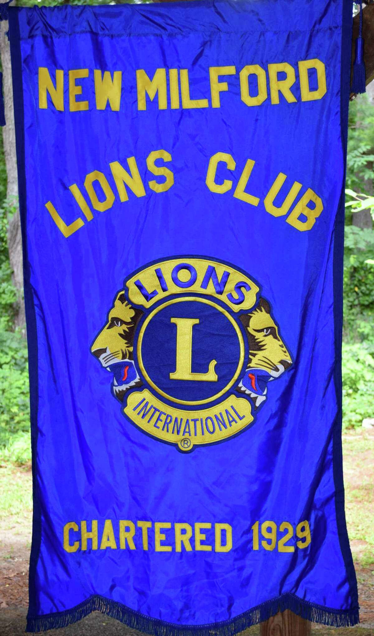 Spectrum/The New Milford Lions Club held its annual senior picnic Aug. 25, 2017, at Harrybrooke Park & Harden House Museum in town. The picnic was one of the club's largest in more recent years, drawing about 90 people. In addition to a lunch of hamburgers, hot dogs and side dishes, guests were treated to music and bingo.