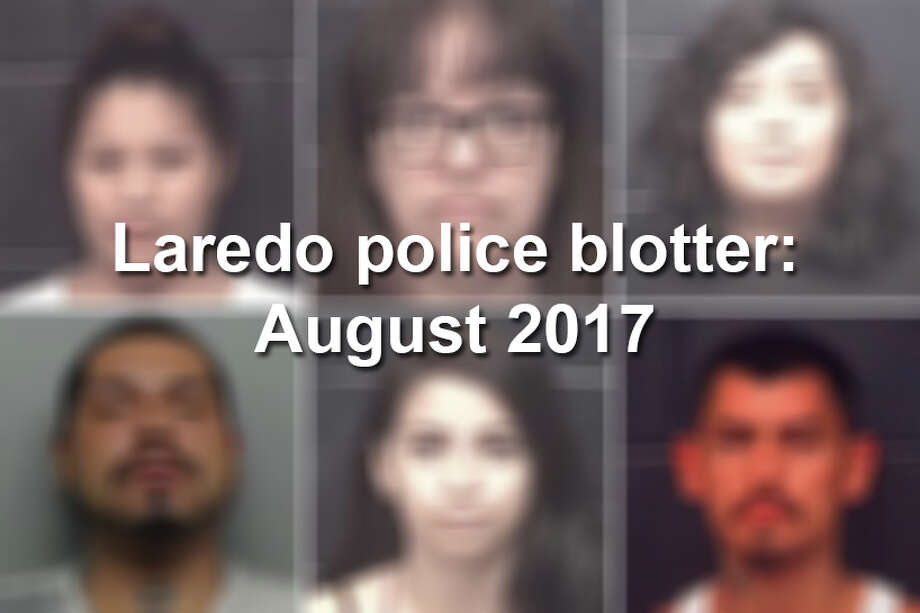 Click through this gallery to see 41 mugshots from arrests in Webb County during August 2017. Photo: Webb County Sheriff's Office