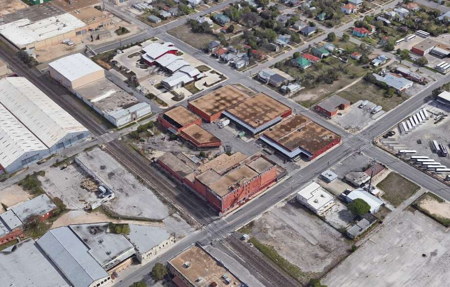 A local nonprofit that promotes science and technology companies has purchased the Merchant's Ice complex in Dignowity Hill. Photo: Google Maps