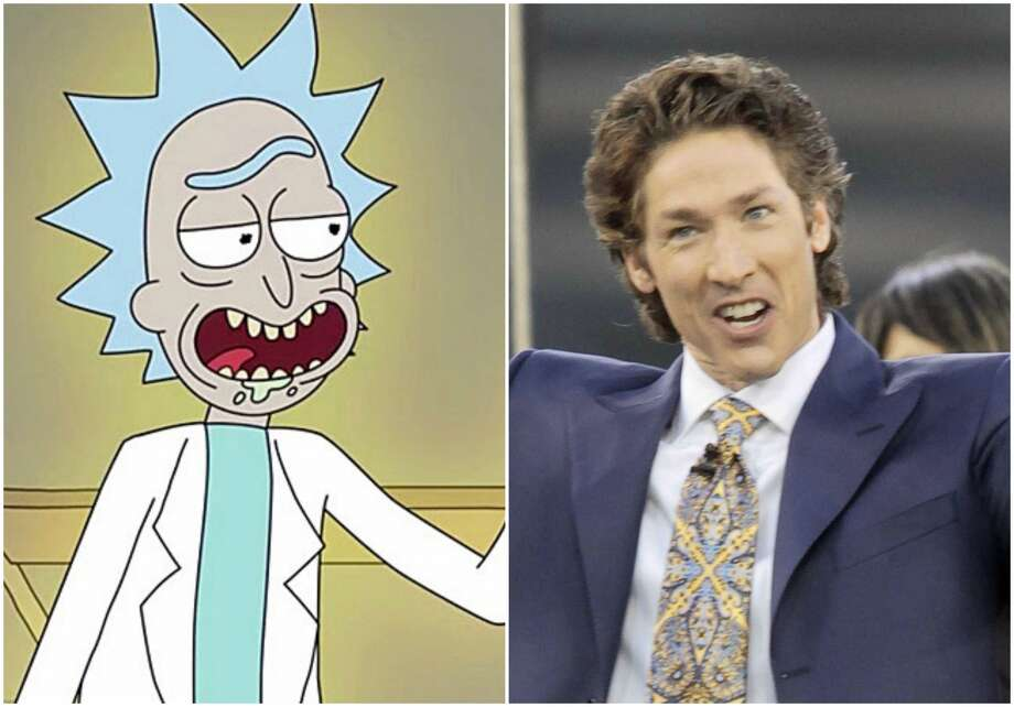 """Justin Roiland (a.k.a Rick Sanchez from Adult Swim's """"Rick and Morty""""), prank called Joel Osteen's prayer line in order to raise money for those affected by Harvey.>> See which rumors were debunked during Harvey, including Osteen's yacht vacation."""