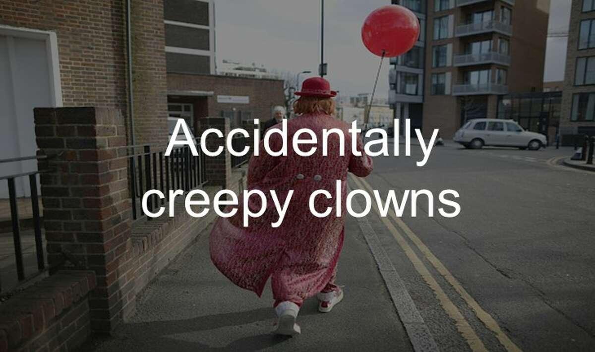 Accidentally creepy clowns