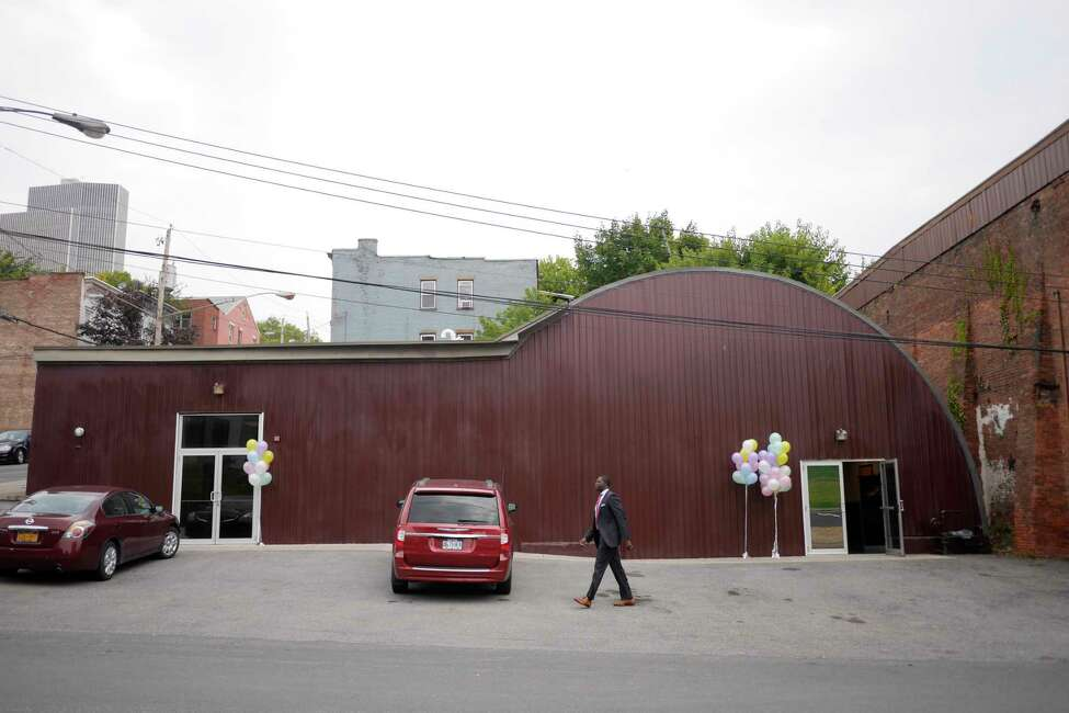 A view of the Victory Christian Church's Dream Center on Warren Street on Tuesday, Sept. 5, 2017, in Albany, N.Y. (Paul Buckowski / Times Union)