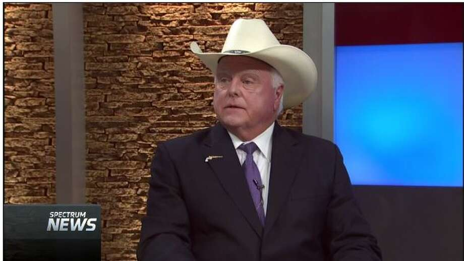 """Sid Miller, the Texas agriculture commissioner, talked  about polls on Confederate statues on the Aug. 23, 2017, edition of Spectrum Cable's """"Capital Tonight"""" (screen grab). Photo: Selby, Gardner (CMG-Austin)"""