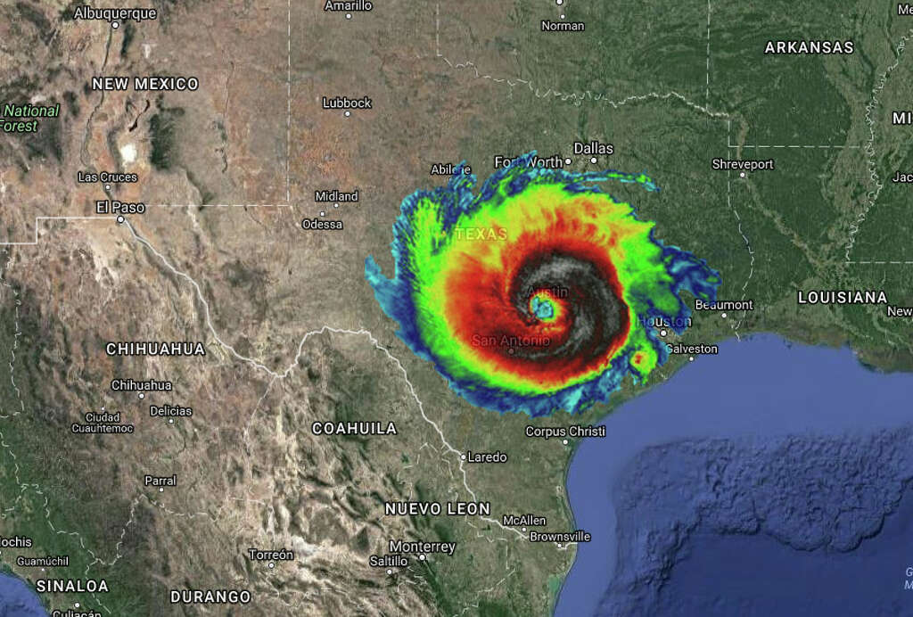 Texas Which Just Got Through The Destruction Of Harvey Would Likely Face A Similar