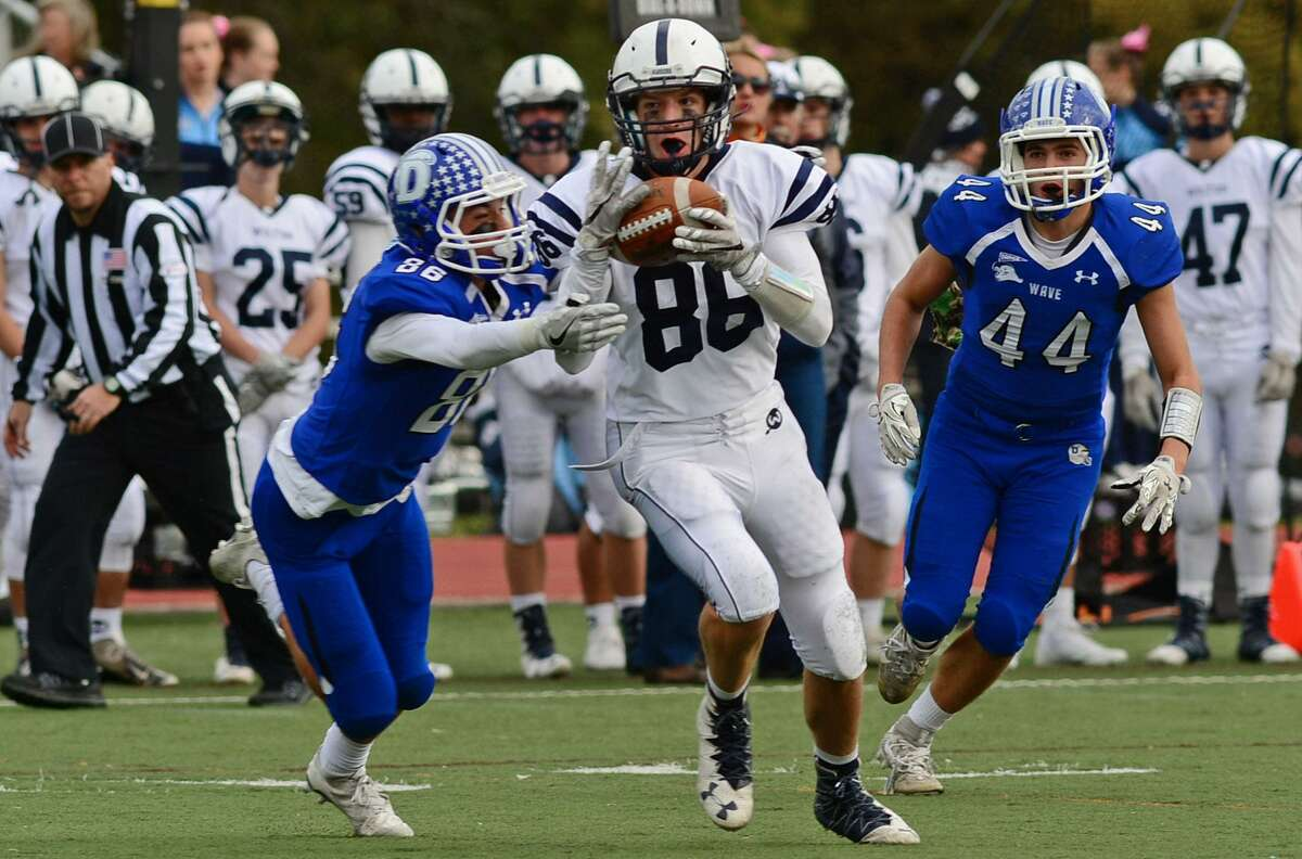 ilton's Robbie Hermann is expected to be a key player for the Warriors this fall.
