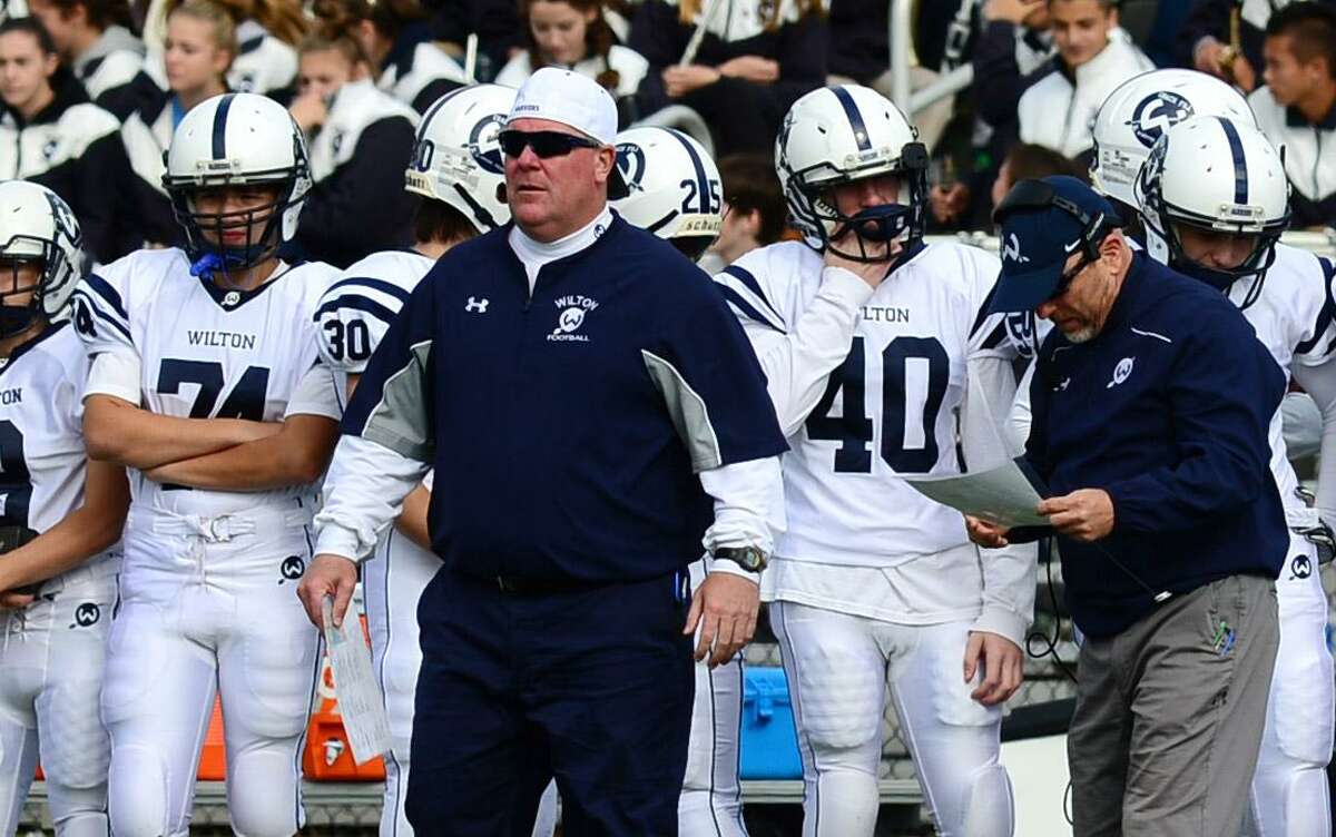 Wilton football coach Bruce Cunningham has options he can turn to this season.