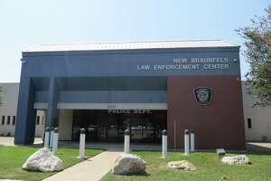 Hurricane Harvey is blamed for damaging the roof of the New Braunfels Police Department building at 1488 S. Seguin Avenue, forcing employees to temporarily relocate while repairs are made.