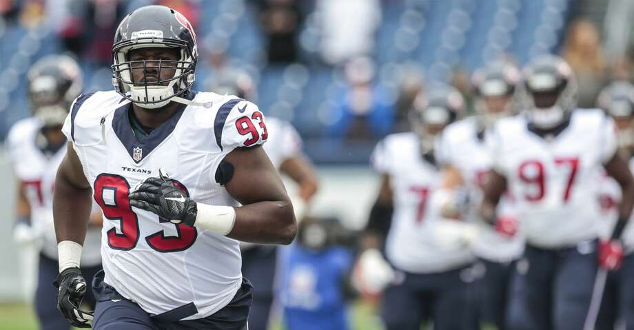 PHOTOS: Texans' 53-man rosterJoel Heath is now listed as the starter at right defensive end ahead of Christian Covington.Browse through the photos to see a breakdown of the Texans' roster for the upcoming season. Photo: Brett Coomer/Houston Chronicle