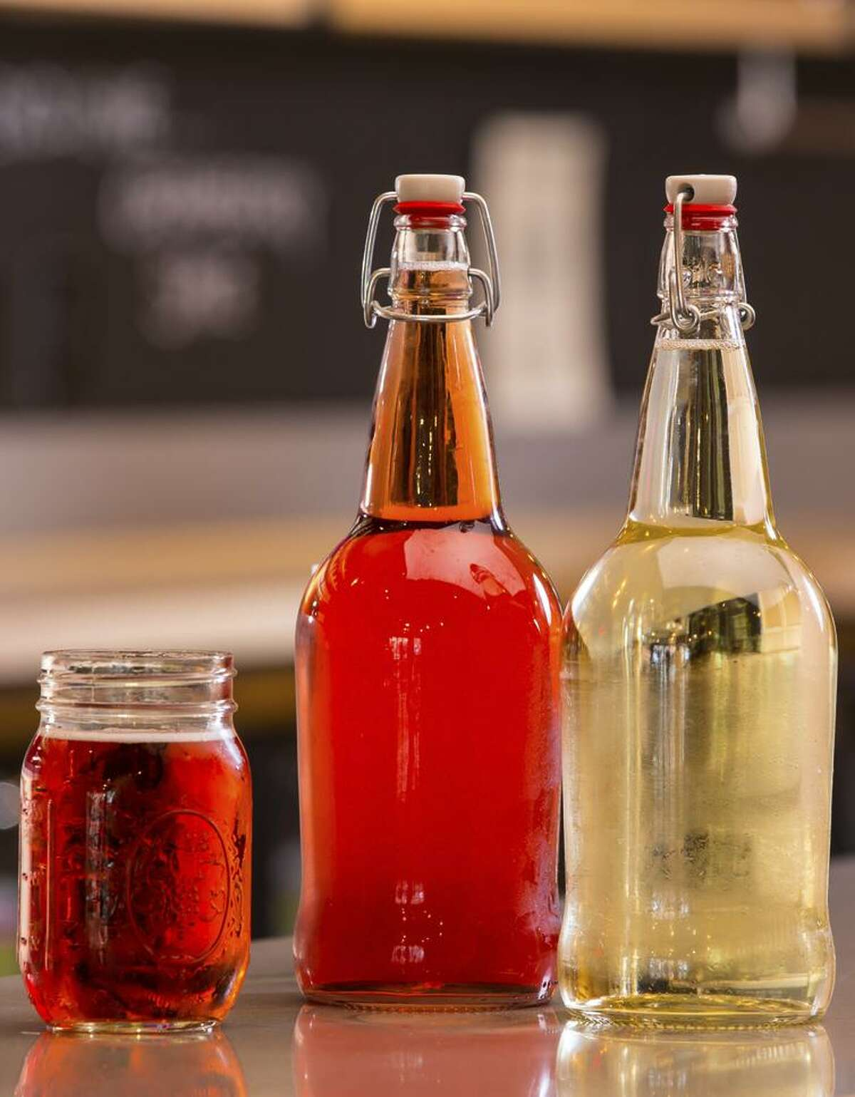 Scotto's Wine & Cider features craft ciders, including small batches only available in its tasting room.