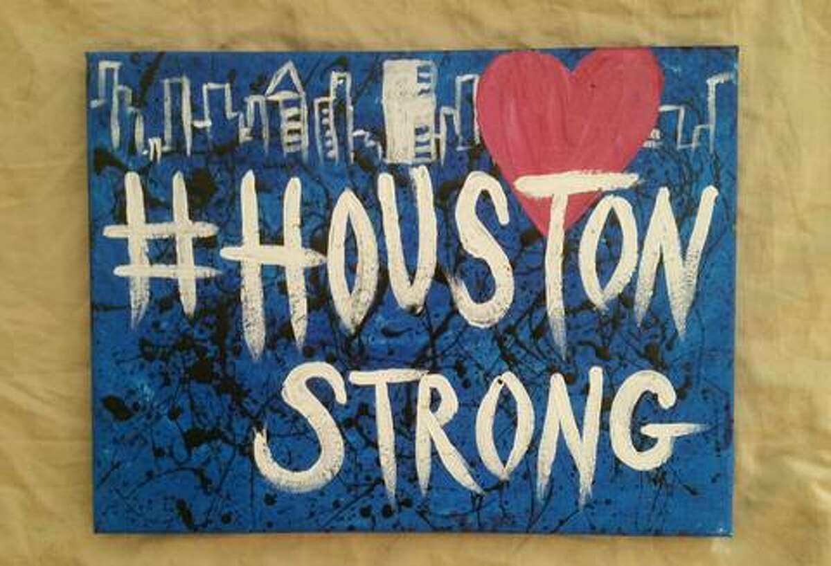 #HOUSTONSTRONG CANVAS 'It's A Houston Thing' is a company started by two Houstonians. They have developed a local lifestyle brand devoted to the Houston-centric lifestyle. They have created a whole collection representing Houston Strong with 100 percent of the profits going to the Houston Flood Relief Fund.