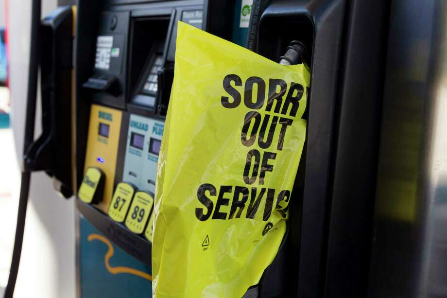 Montgomery County officials are reviewing a bulk fuel contract with Houston-based Suncoast Resources Inc. after the supplier raised its fuel price 118 percent forcing county employees to fill up at area gas stations at a lower price. Photo: Jason Fochtman, Staff Photographer / © 2017 Houston Chronicle