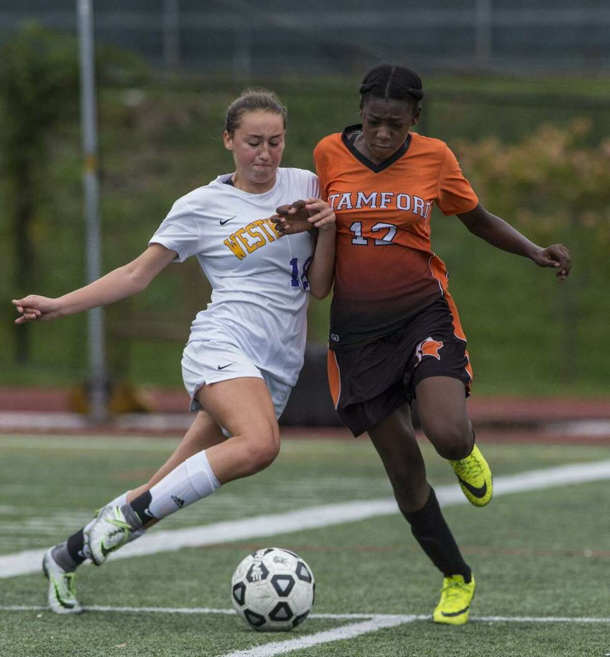 Stamford's Chanille Assevero is back for another season with the Black Knights.