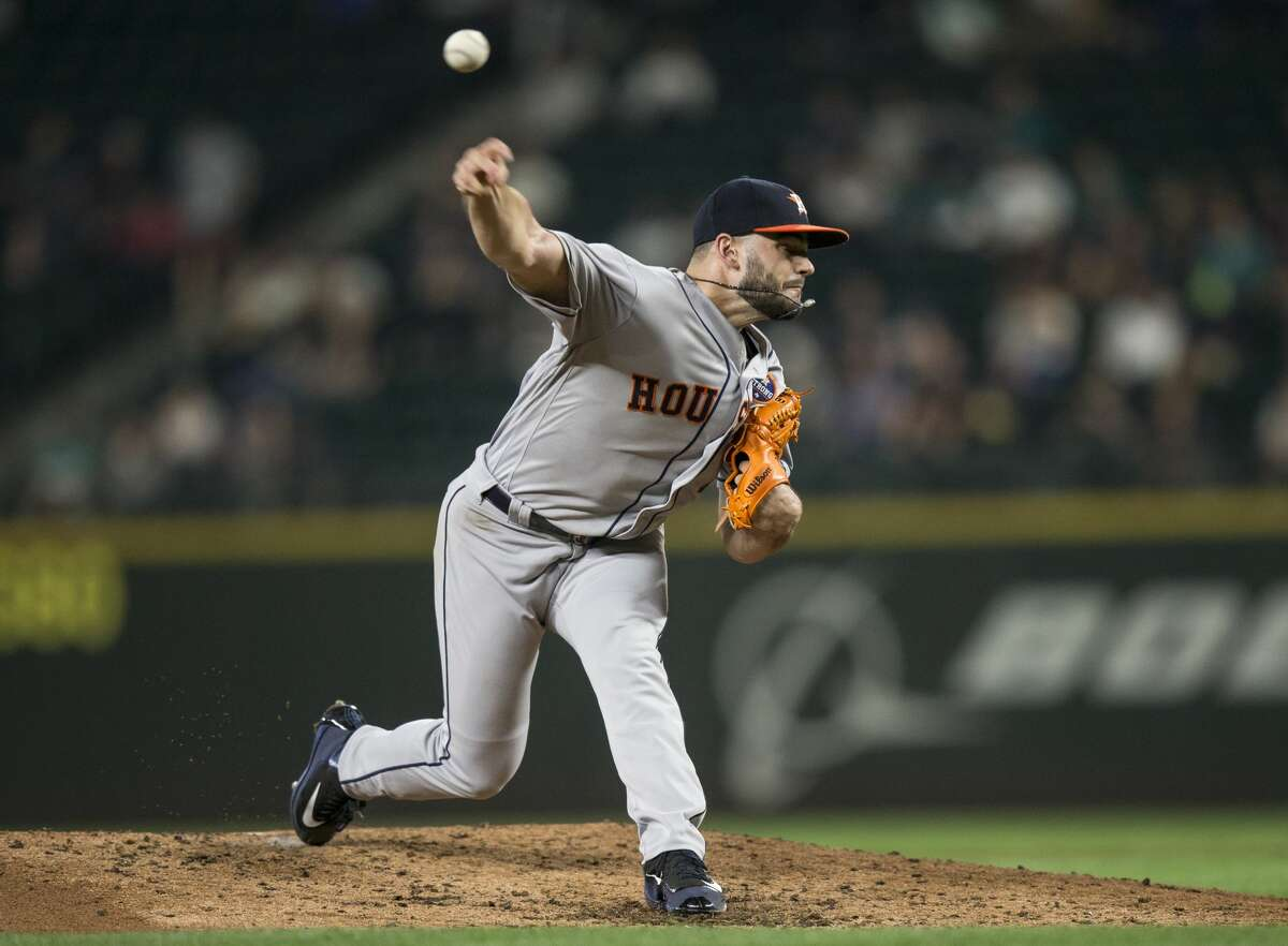 SEATTLE, WA - SEPTEMBER 6: Starter Lance McCullers Jr. of the Houston Astros delivers a pitch during the fifth inning of a game against the Seattle Mariners at Safeco Field on September 6, 2017 in Seattle, Washington. The Astros won 5-3. (Photo by Stephen Brashear/Getty Images)