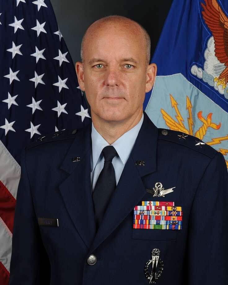 USAF Maj. Gen. Michael Fortney