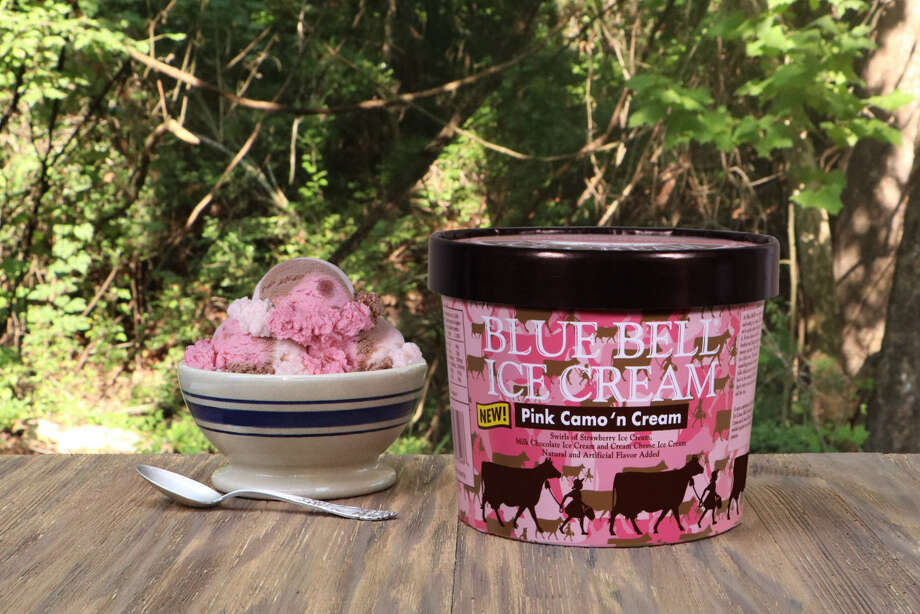 Blue Bell's newest flavor - Pink Camo 'n Cream - has been in the works since 2015 and on September 7, 2017, the flavor has hit the shelves. Continue through the gallery to see the best Blue Bell flavors ranked. Photo: Courtesy Of Blue Bell