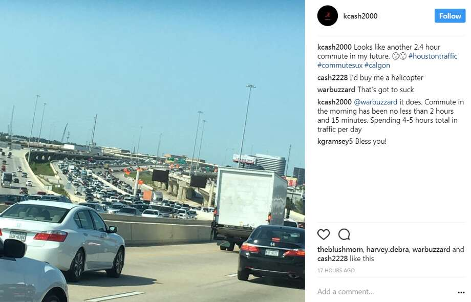 """""""Looks like another 2.4 hour commute in my future."""" @kcash2000 Photo: Photo: Via Instagram"""