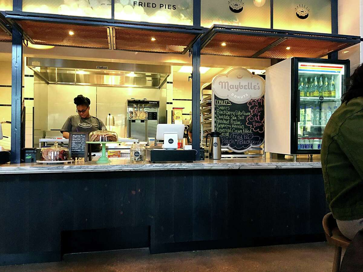 Maybelle's Donuts, a side project from the team behind Bakery Lorraine at the new Bottling Department food hall at the Pearl closed for business on Dec. 31.